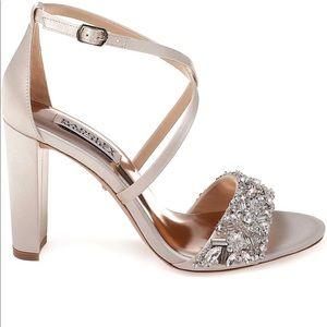 Badgley Mischka Sandy Strappy Heel - size 7.5